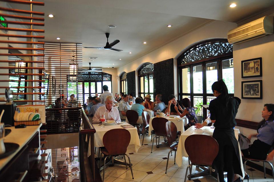 8 nhà hàng Âu lãng mạn đổi mới cho bữa ăn cuối tuần