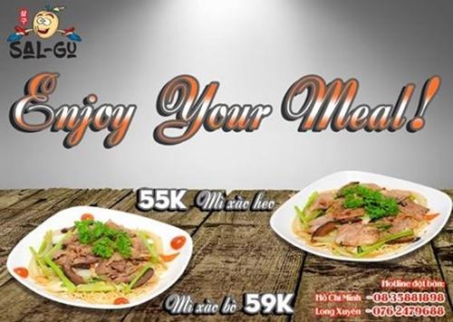 Bữa trưa ngon tuyệt tại nhà hàng Hàn Quốc Vincom Gò Vấp