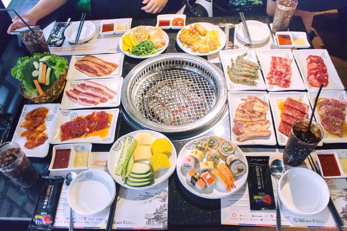 Món nướng chuẩn vị Hàn Quốc tại Hưng Yên