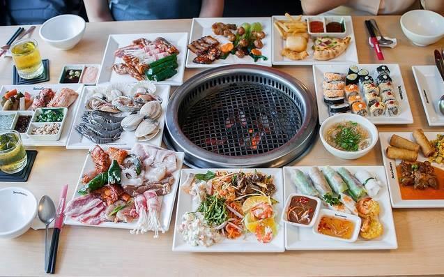 Thưởng thức buffet tại Seoul Garden giá từ 200.000 đồng