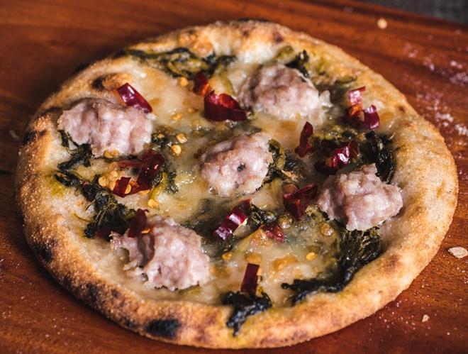 Thưởng thức pizzetta chuẩn vị Ý chỉ từ 69.000 đồng