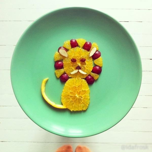 Cách tạo hình các món ăn khiến bé thích mê